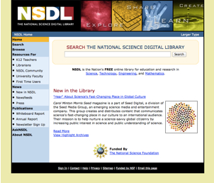 NSDL 2008 screenshot